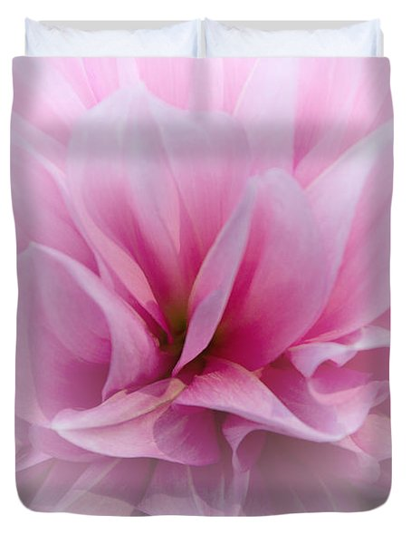 Duvet Cover featuring the photograph Whisper Love by Jean OKeeffe Macro Abundance Art