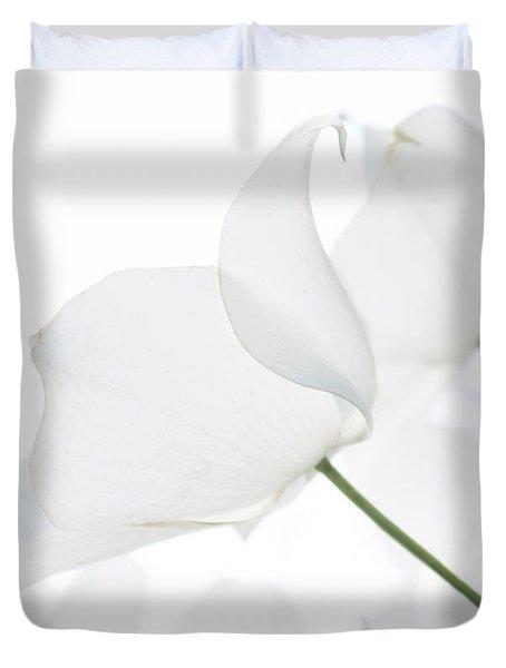 Whisper Of White Duvet Cover