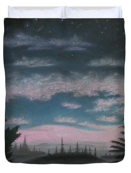 Whispering Pines 02 Duvet Cover