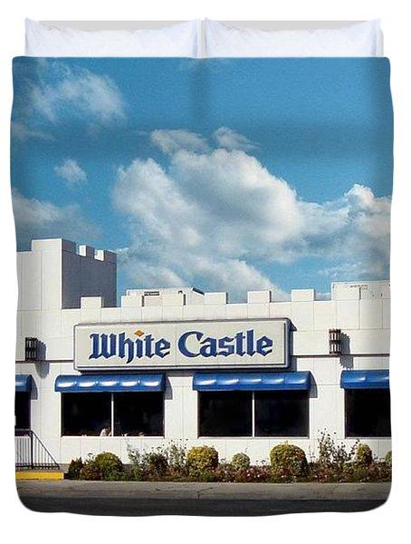White Castle Duvet Cover by Bruce Lennon