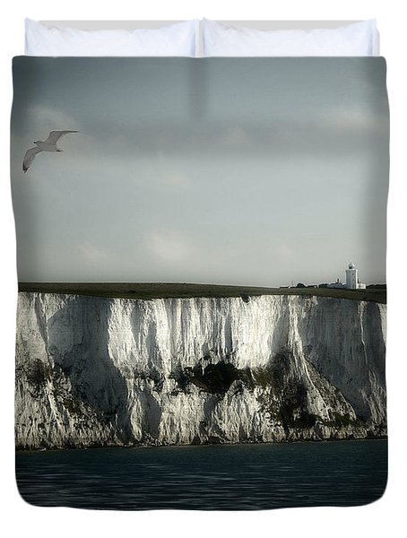 White Cliffs Of Dover Duvet Cover