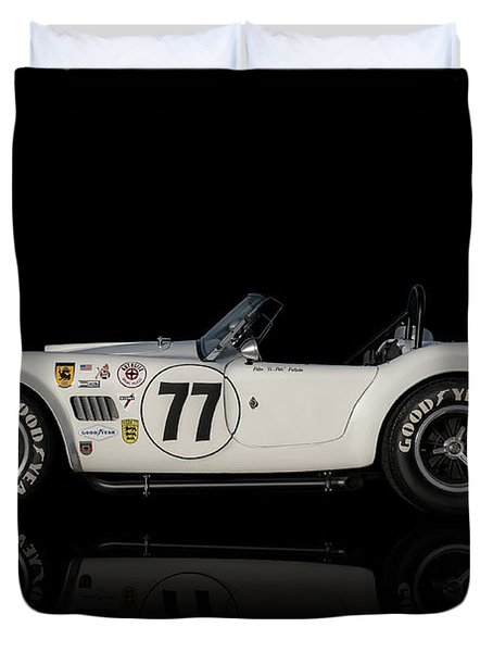 White Cobra Duvet Cover