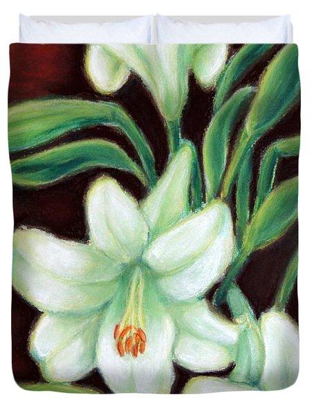 White Elegance Duvet Cover by Inese Poga