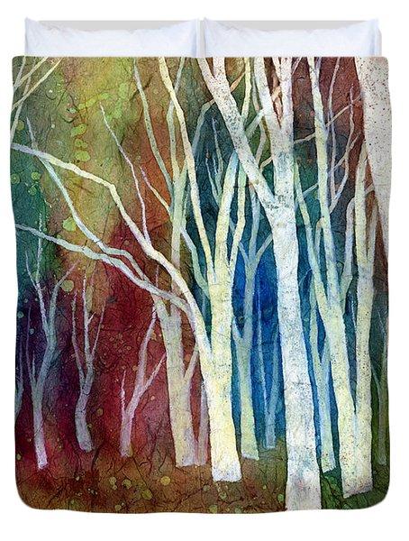 White Forest I Duvet Cover