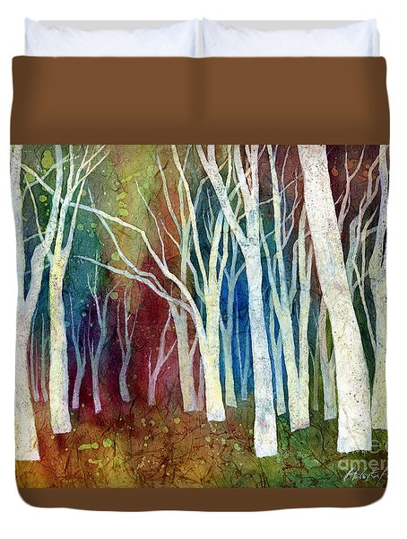 White Forest I Duvet Cover