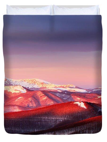 White Heart Duvet Cover by Evgeni Dinev