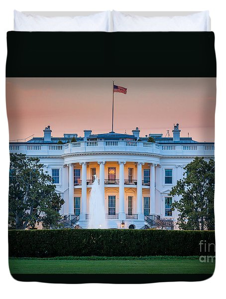 White House Duvet Cover