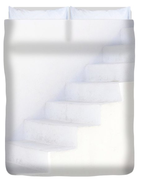 White On White Duvet Cover