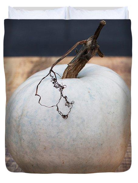 White Pumpkin Duvet Cover