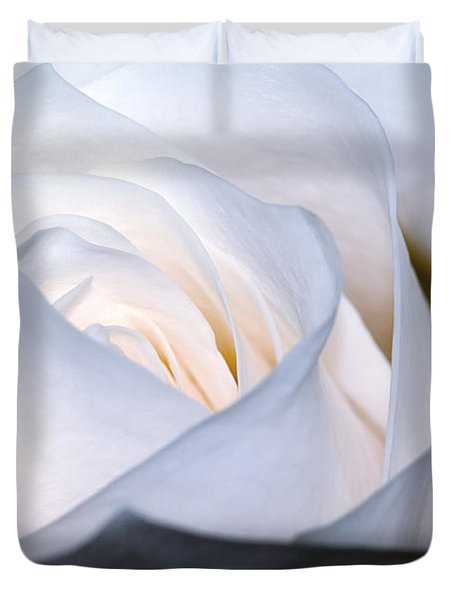 White Rose Duvet Cover