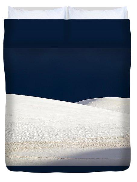 White Sands Dark Sky Duvet Cover