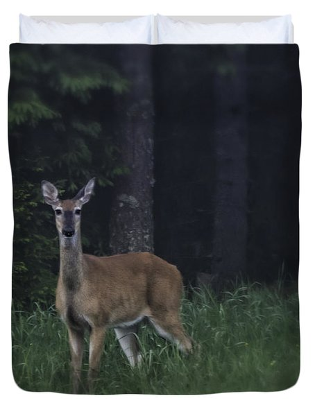 White-tailed Deer Duvet Cover