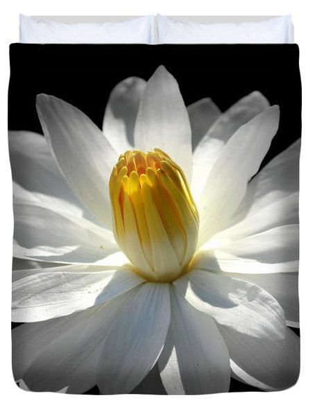 White Water Lily #2 Duvet Cover