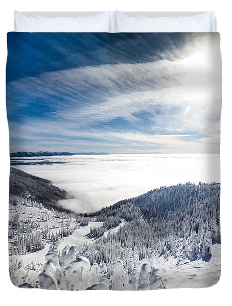 Whitefish Inversion Duvet Cover
