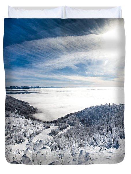 Whitefish Inversion Duvet Cover