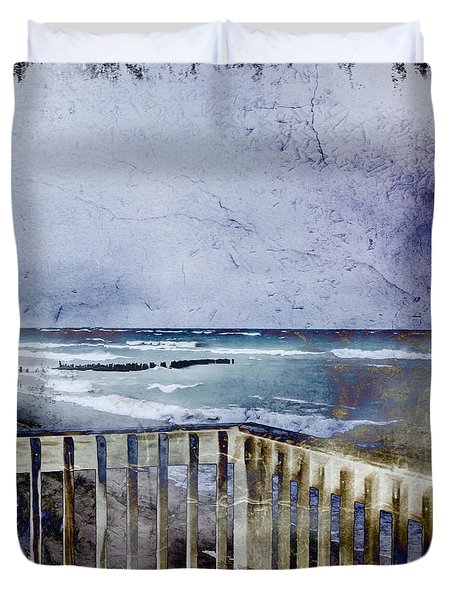 Whitefish Point From The Deck Duvet Cover