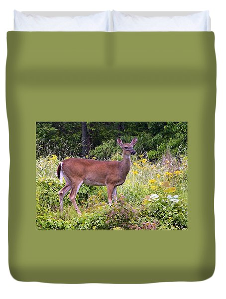 Whitetail Deer Duvet Cover