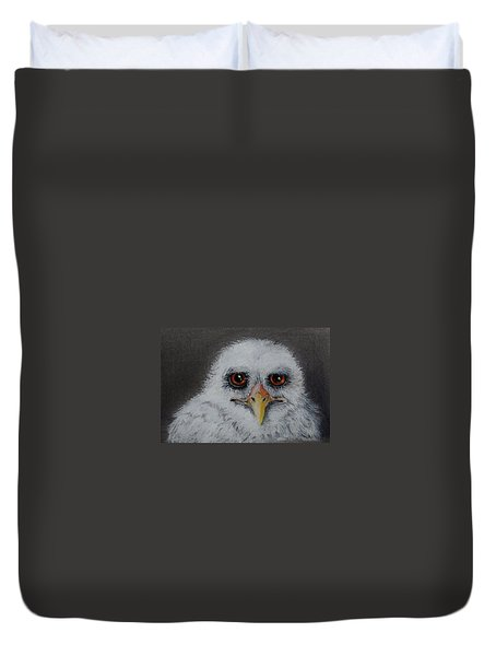 Who? Duvet Cover by Jean Cormier