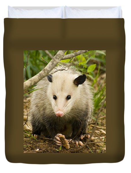 Who Says Possums Are Ugly Duvet Cover