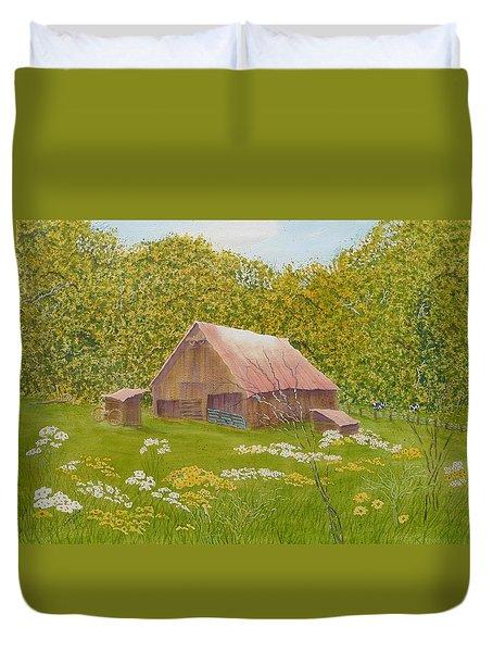 Whose Barn - What Barn - My Barn  Duvet Cover