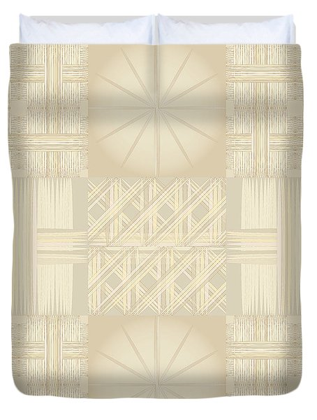 Wicker Quilt Duvet Cover
