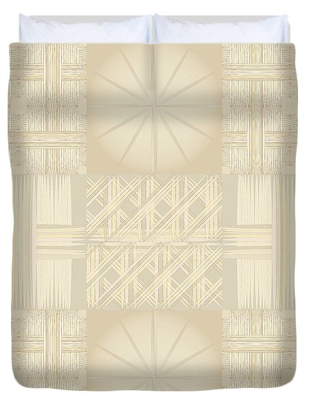 Wicker Quilt Duvet Cover by Kevin McLaughlin