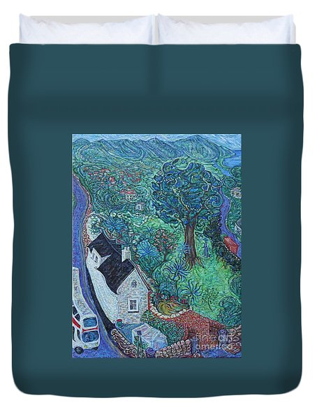 Wicklow Town - A Glimpse Of Ireland Duvet Cover