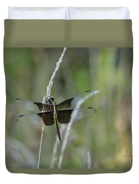 Widow Skimmer Duvet Cover