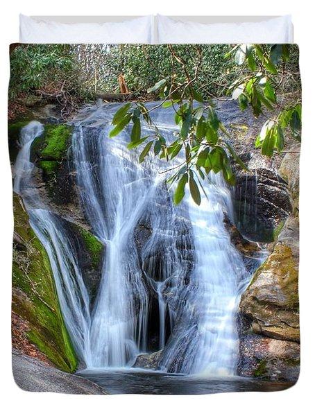 Widows Creek Falls Duvet Cover