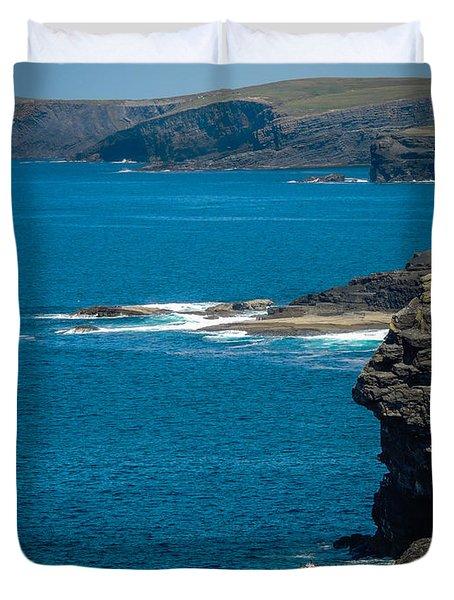 Wild Atlantic Coast Duvet Cover