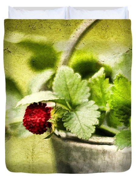Wild Berries Duvet Cover by Darren Fisher