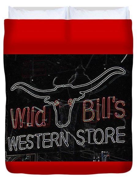 Wild Bill's Duvet Cover