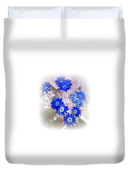 Wild Blue Duvet Cover