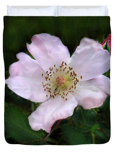 Wild Carolina Rose Duvet Cover