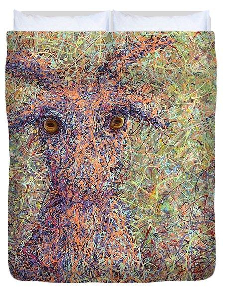 Wild Goat Duvet Cover