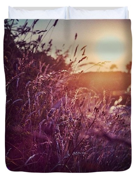 Wild Grasses. Life Is Supposed To Be Duvet Cover