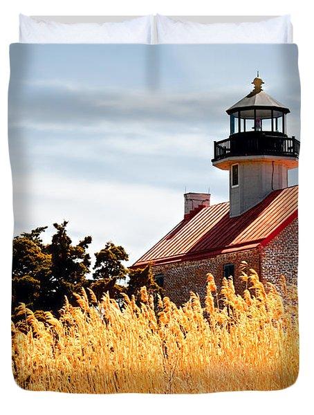 Wild Lighthouse Duvet Cover