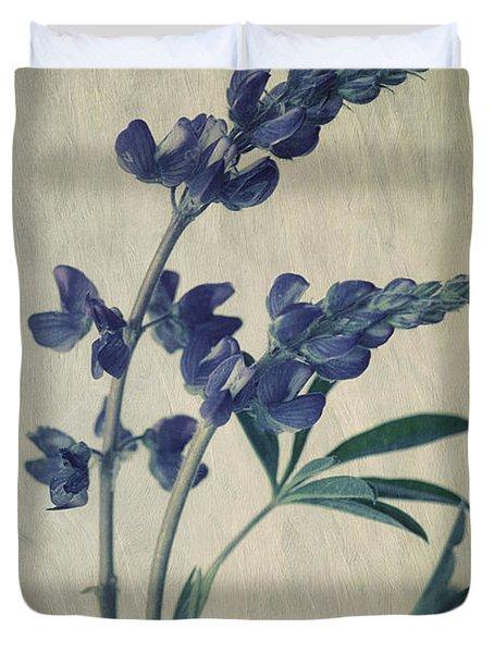 Wild Lupine Duvet Cover
