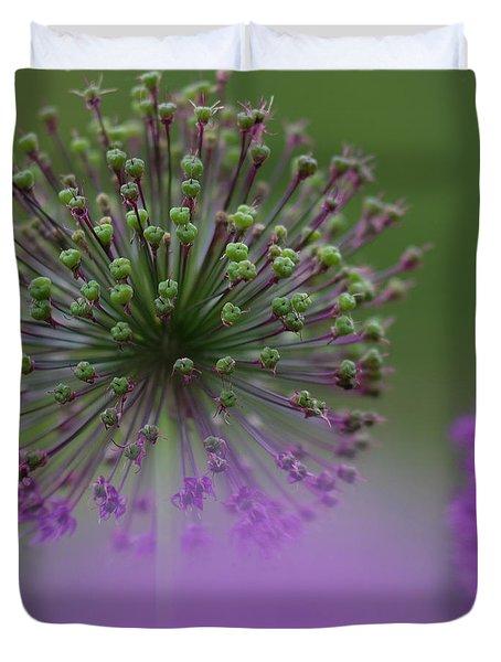 Wild Onion Duvet Cover