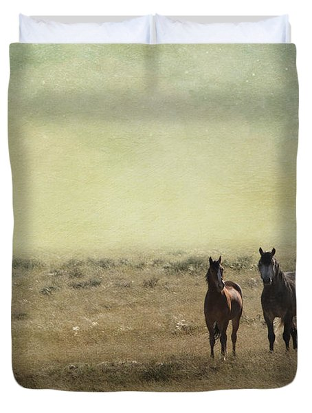 Wild Pair Duvet Cover by Juli Scalzi