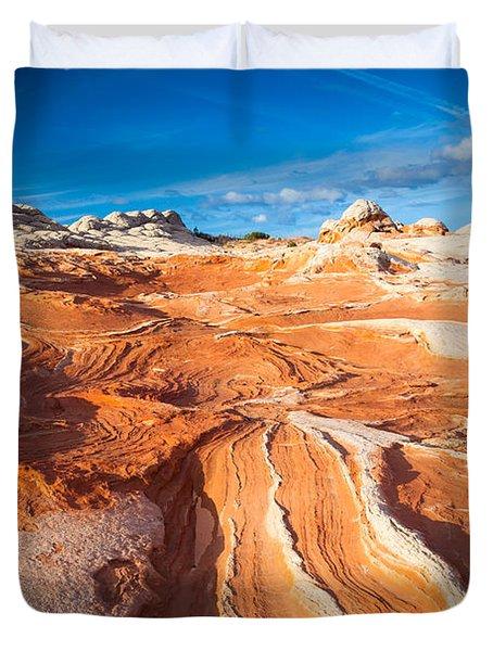 Wild Sandstone Landscape Duvet Cover