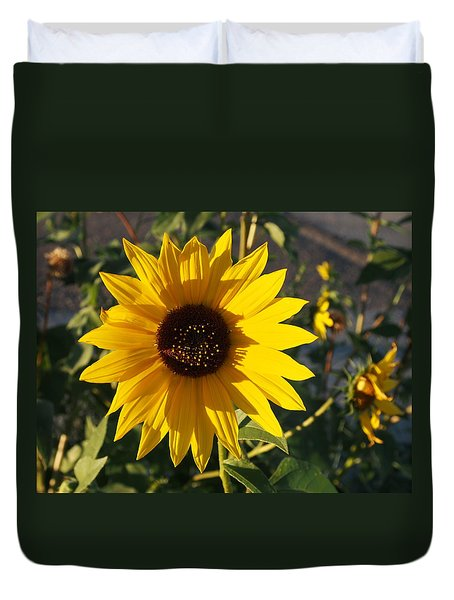 Wild Sunflower Duvet Cover