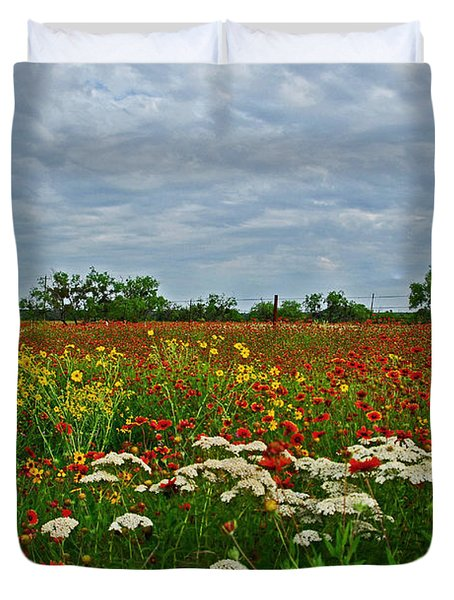 Wild Texas Duvet Cover