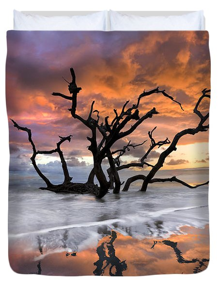 Wildfire Duvet Cover