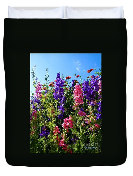 Wildflowers #14 Duvet Cover by Robert ONeil