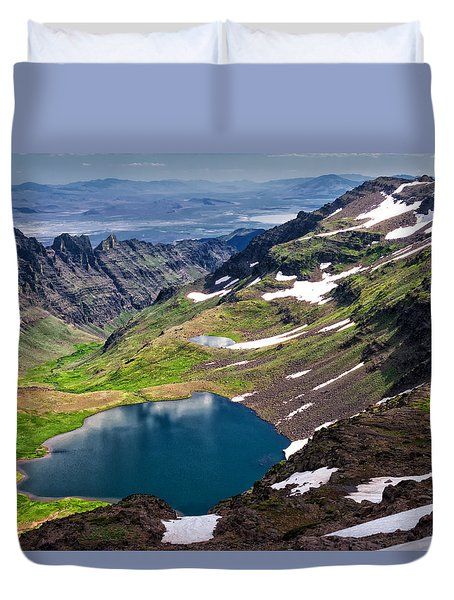 Wildhorse Lake Duvet Cover