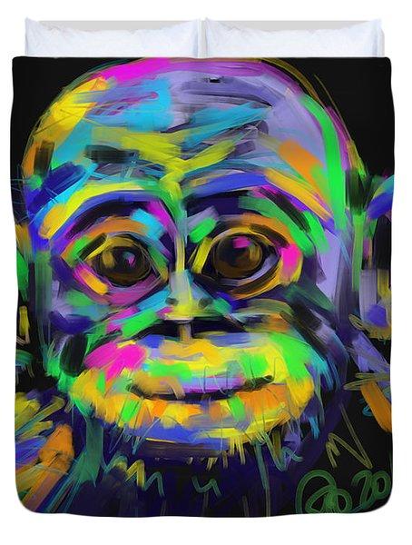 Wildlife Baby Chimp Duvet Cover