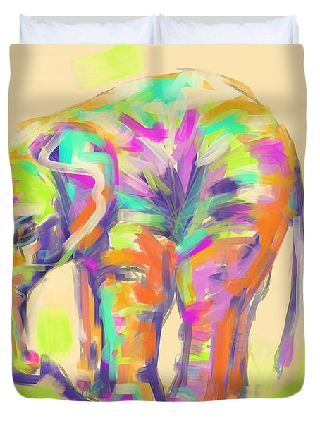 Wildlife Baby Elephant Duvet Cover