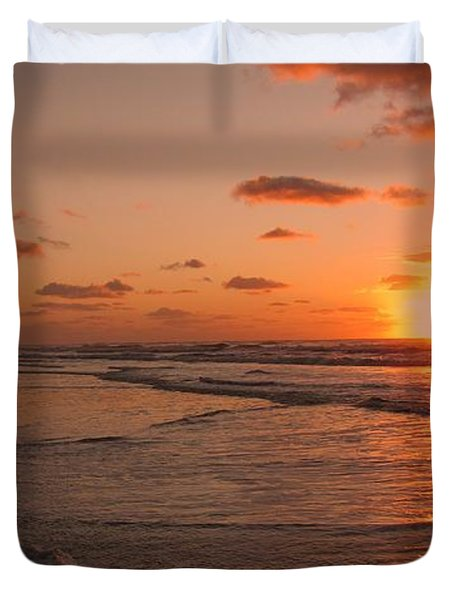 Wildwood Beach Sunrise II Duvet Cover