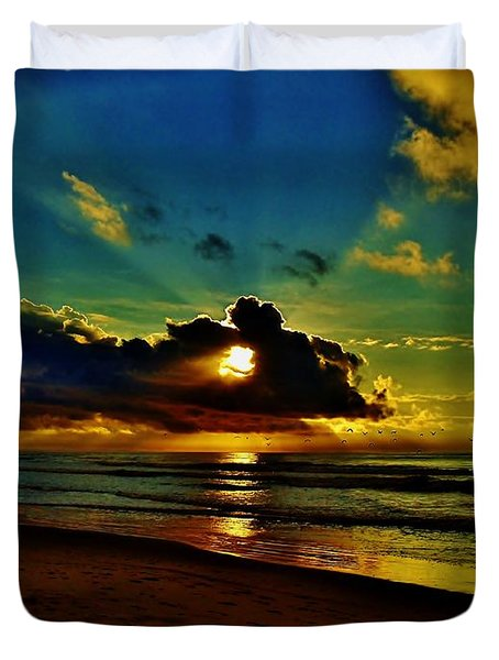 Wildwood Sunrise Duvet Cover